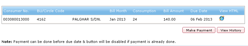 Viewing and Paying bills